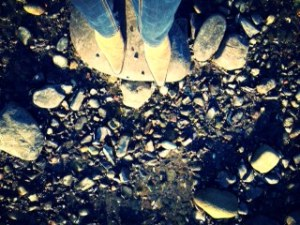 feet on the beach april 14