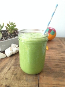 Green Juice with Persian Sea Salt
